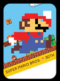 Modern colors super mario 30th amiibo card