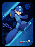 mega man 11 amiibo card