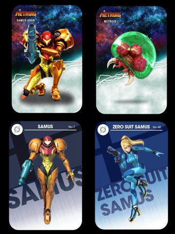 metroid samus returns custom amiibo card