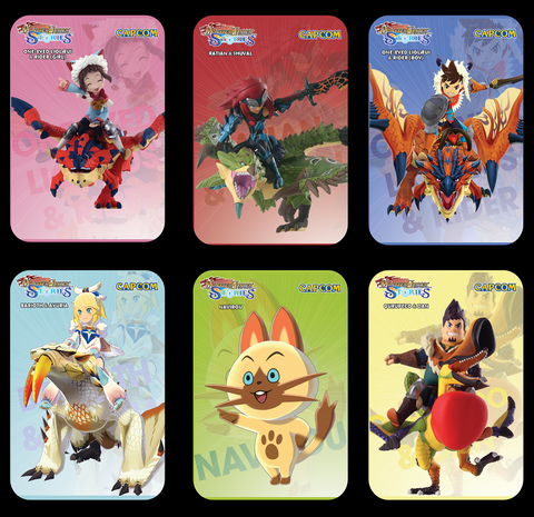 monster hunter stores amiibo cards
