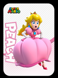 peach amiibo card
