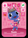 rosie animal crossing festival amiibo card