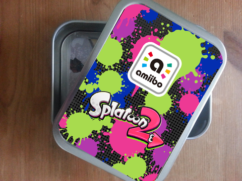 splatoon amiibo card storage tins