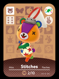 stitches animal crossing festival amiibo card