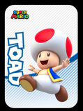 toad amiibo card