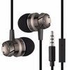 In-Ear Turbo Design Earphones Metal Earbuds Stereo Super Bass Handsfree With Mic for iPhone - Onaap
