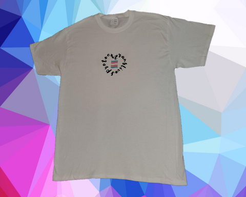 Protect Trans Lives - Heart With Flag Shirt