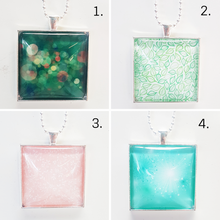 Large Square Pendants