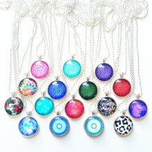 Small Circle Pendants