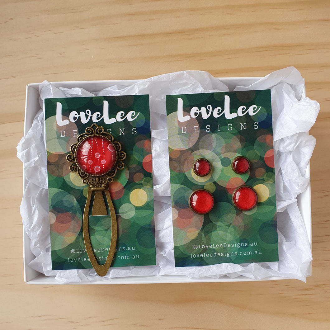 Gift Sets - Bookmark + Earring Duo