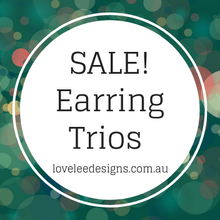Earring Trios on SALE!