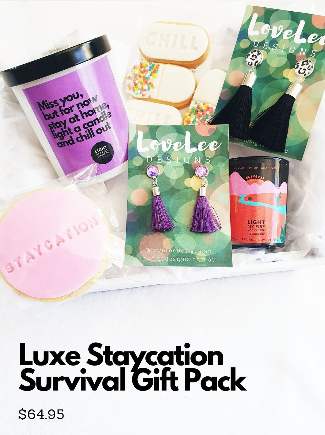 Staycation Survival Gift Packs *Limited Edition*