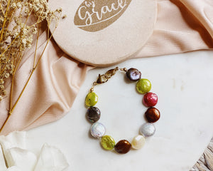 Connect pearl bracelet