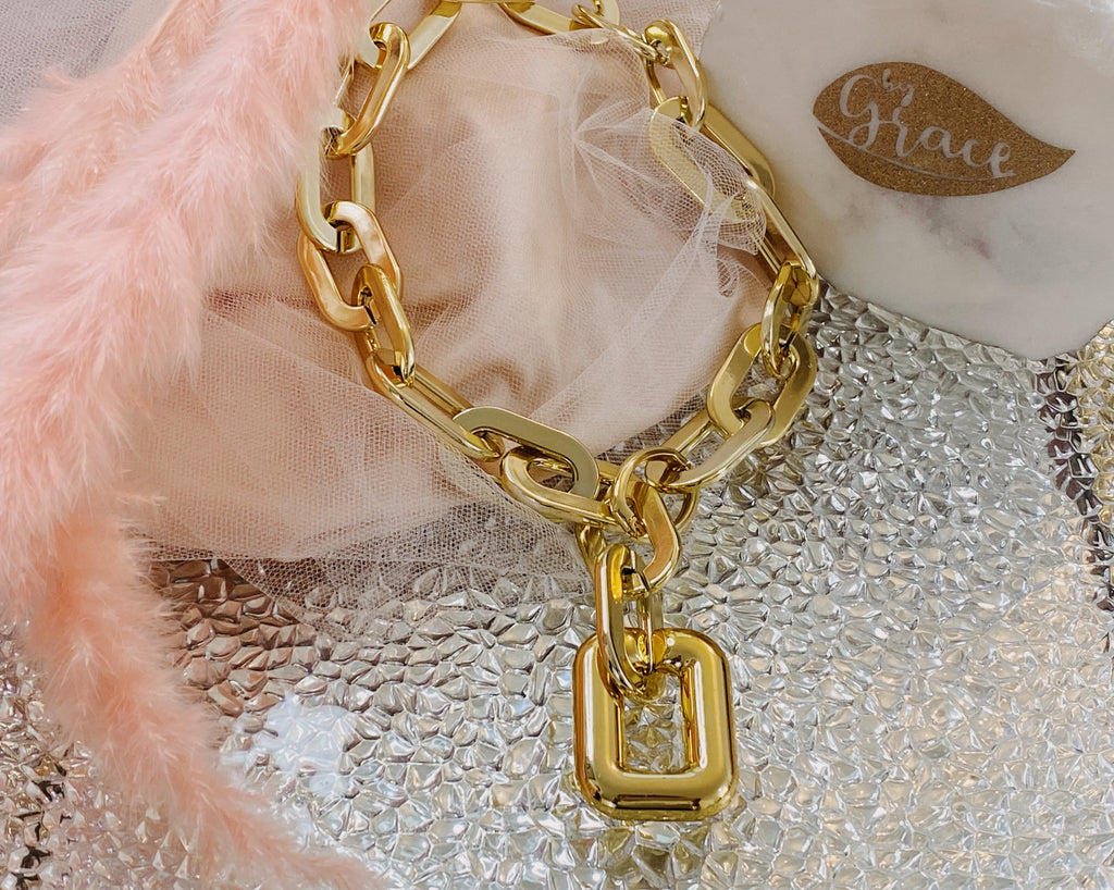 Anabela golden necklace