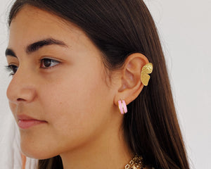 Form cuff earrings