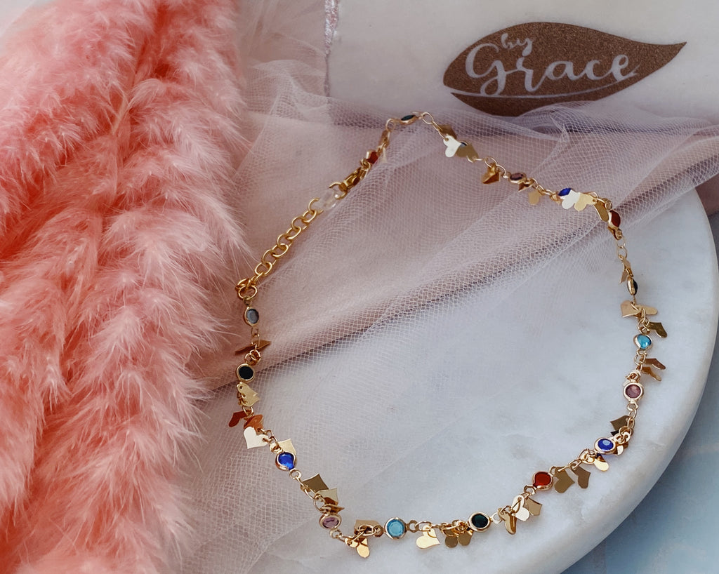 Annaís Color cristal chokers