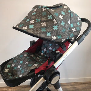 Custom Baby Jogger City Select Hood - Lilli May Collections