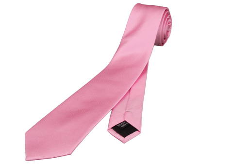 Perfect Skinny slim pink neck tie