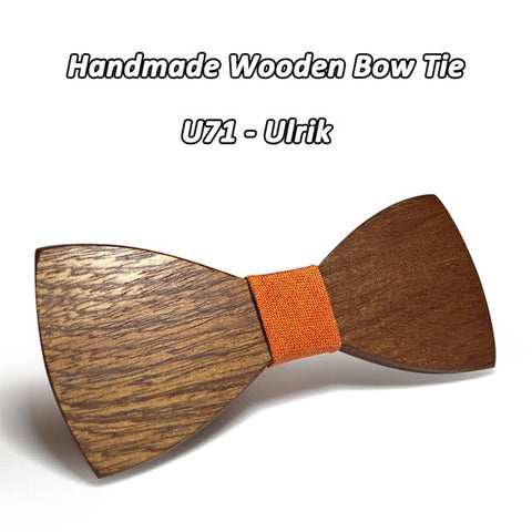 The Stylist's Wooden Bow Tie