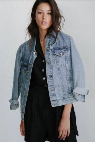 LITTLE LIES Stevie Denim Jacket