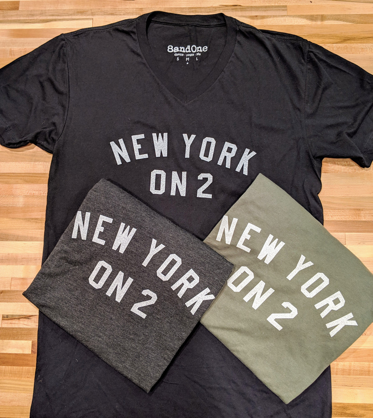 New York on 2 tee