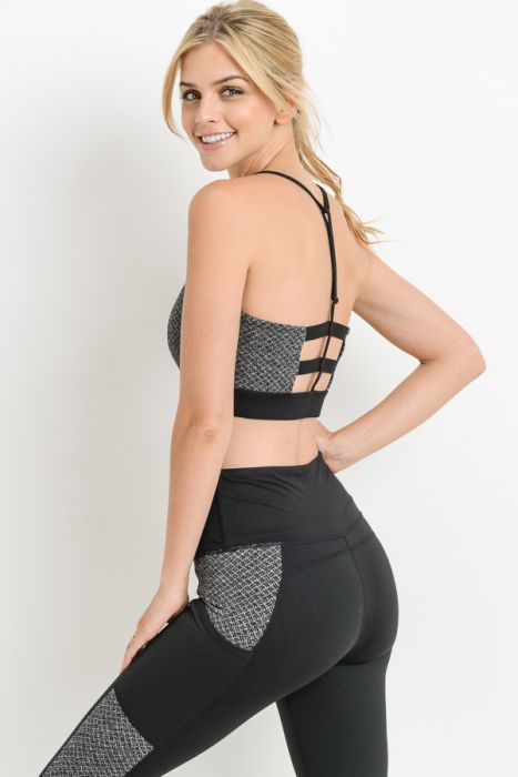 Back up sports bra