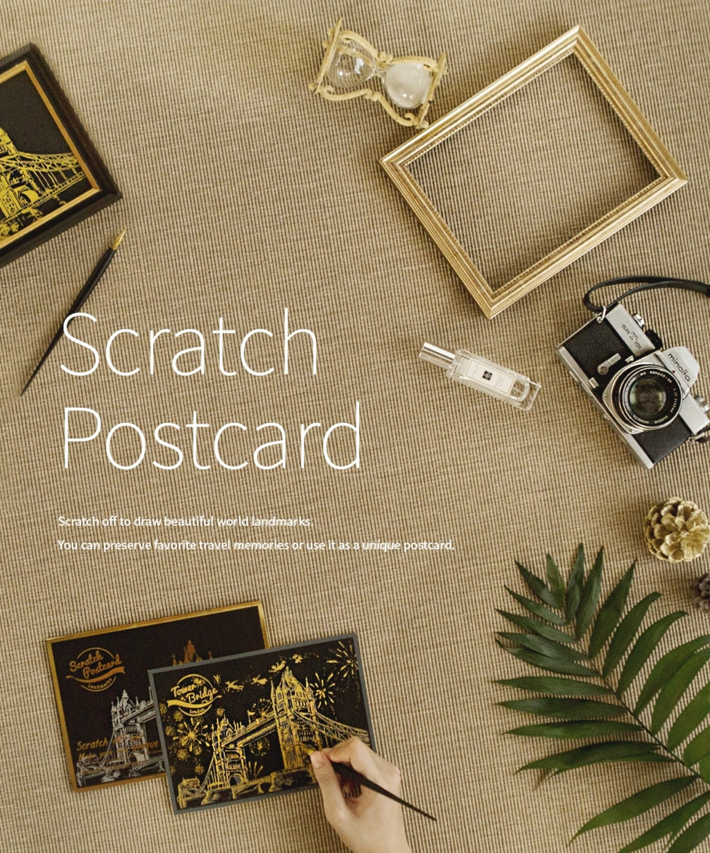 Scratch Postcard Set - Version 4 (Korea)
