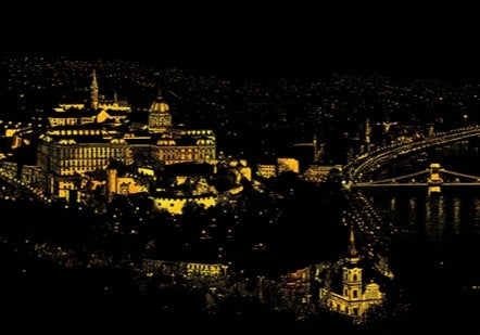 Scratch Night View - Budapest