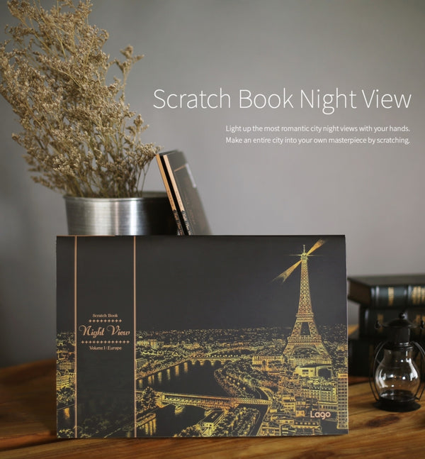 Scratch Book Night View - Vol.1 Europe