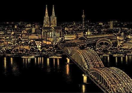 Scratch Night View - Cologne