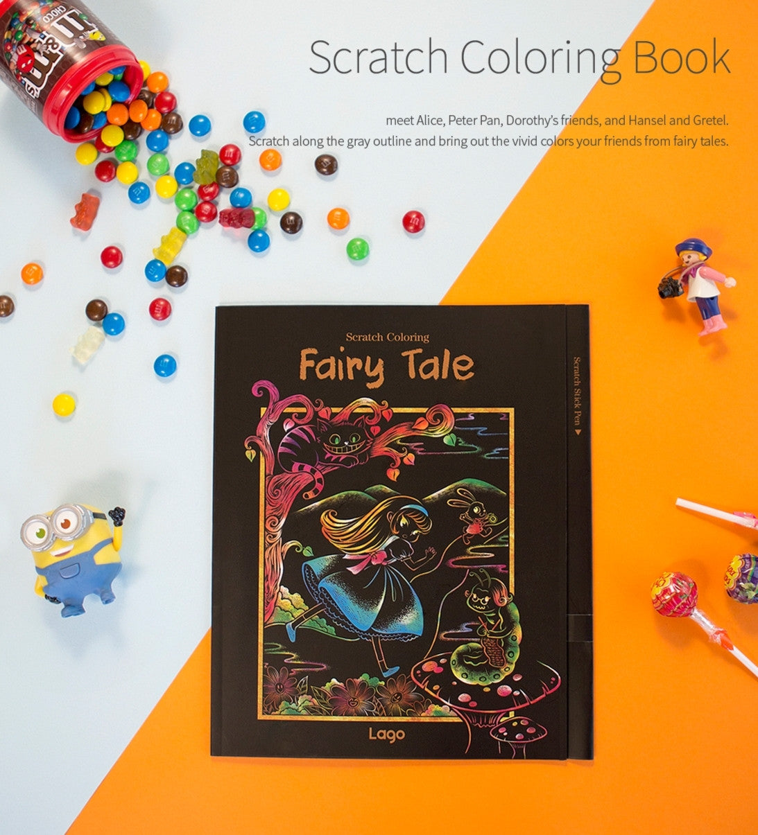 Lago Coloring Book Scratch Healing Art