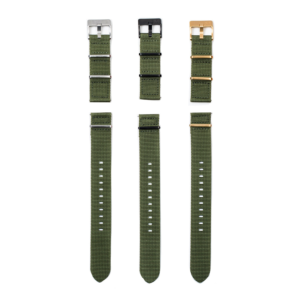 ARMY GREEN NATO - MATIC WATCHES