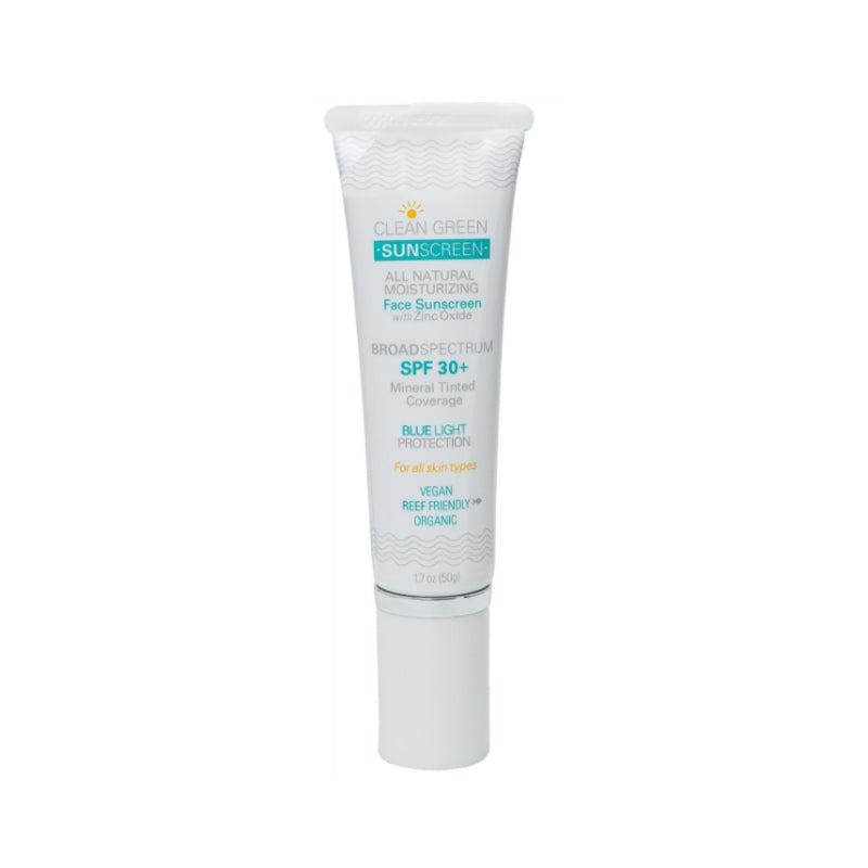 Moisturizing Face Sunscreen With Zinc Oxide