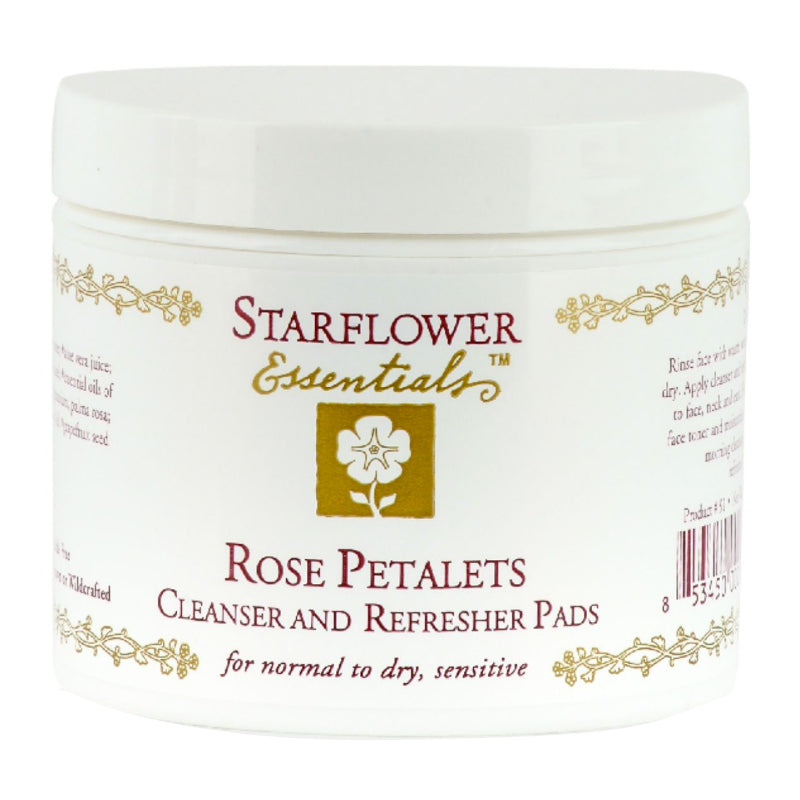 Rose Petalets Cleanser and Refresher Pads