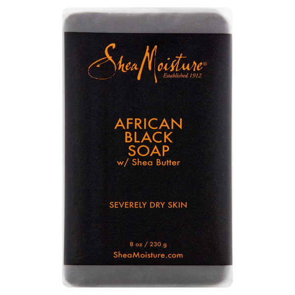 SheaMoisture African Black Soap Bar, 8 oz