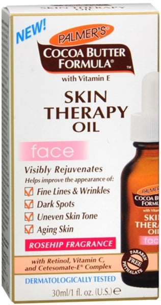 2 Pack - Palmer's Cocoa Butter Formula Skin Therapy Oil for Face 1 oz