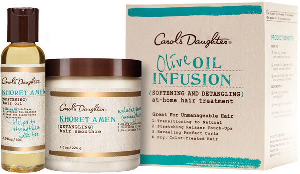 Carol's Daughter Olive Oil Infusion At-Home Hair Treatment ( Treatment Kit)