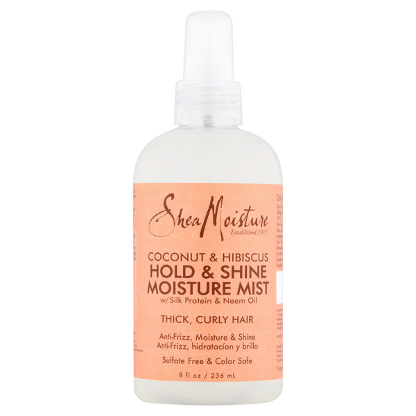 SheaMoisture Coconut & Hibiscus Hold & Shine Moisture Mist, 8 fl oz