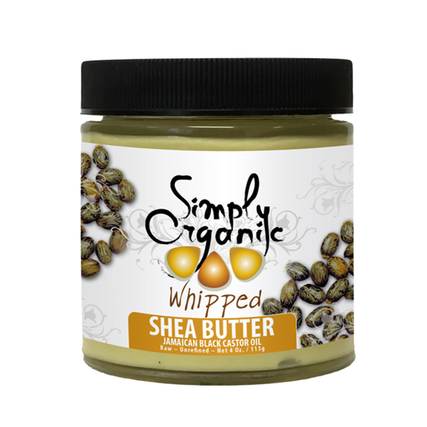 Shea Butter with Jamaican Black Castor Oil WHIPPED - Unscented