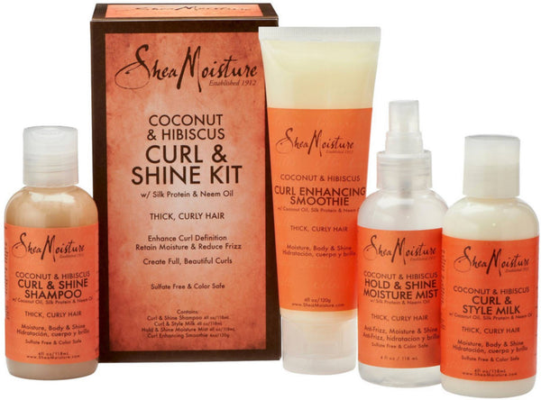 SheaMoisture 1 count Coconut & Hibiscus Curl & Shine Kit