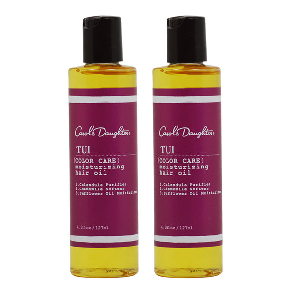 "Carol's Daughter Tui Color Care Moisturizing Hair Oil, 4.3 Ounce ""Pack of 2"""