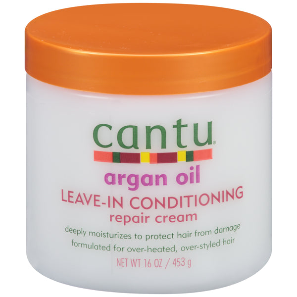 Cantu Argan Oil Leave-In Conditioning Repair Cream, 16 oz.