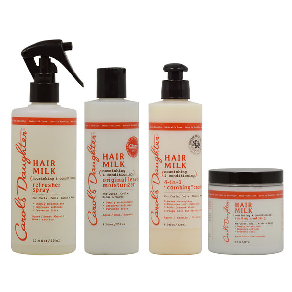 "Carol's Daughter Spray & Leave in Moisturizer & 4 in 1 Creme & Styling Pudding  ""Combo"""