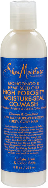 Shea Moisture Mongongo & Hemp Seed Oils High Porosity Moisture-Seal Co-Wash 8 oz