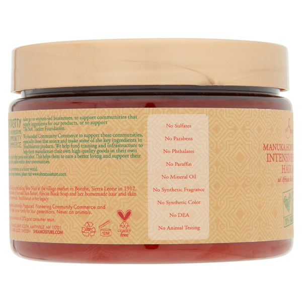 SheaMoisture Manuka Honey & Mafura Oil Intensive Hydration Hair Masque, 12 oz