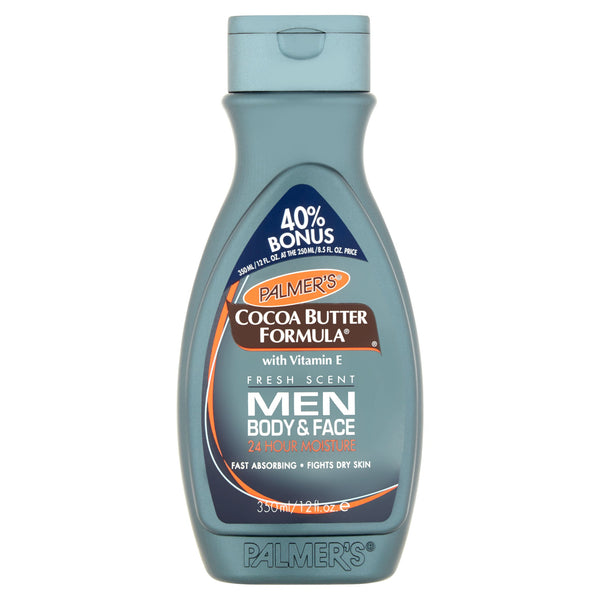 ***Discontinued***12 FL OZ PALMER'S COCOA BUTTER FORMULA MEN'S LOTION BONUS