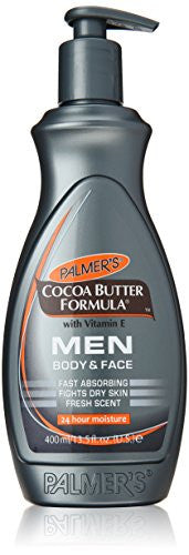 2 Pack Palmer's Cocoa Butter Formula Men's Lotion 13.5 Fluid Ounce Each
