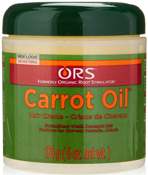 4 Pack - ORS Carrot Oil Hair Creme 6 oz