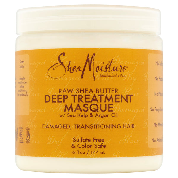 SheaMoisture Raw Shea Butter Deep Treatment Hair Masque, 6 fl oz
