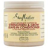 SheaMoisture Jamaican Black Castor Oil Strengthen & Grow Leave-In Conditioner, 6 fl oz